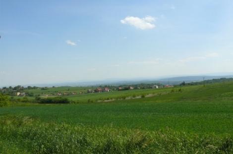Krajobraz do budowy, poblize aglomeracji, fot. im